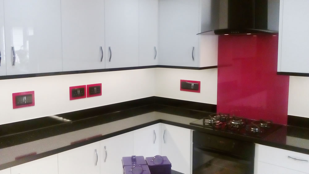 Glass Splashbacks in Kingston